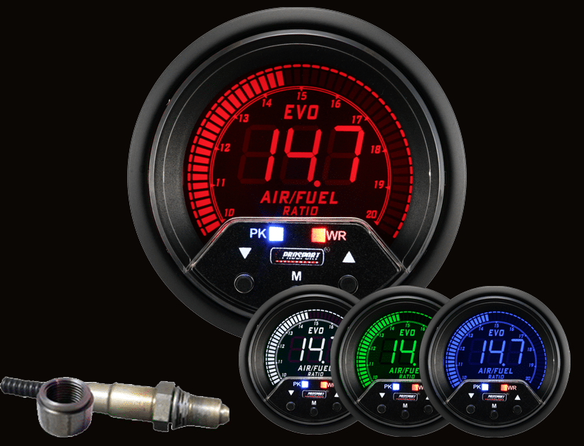Pleasant Prosport Premium 60Mm Evo Series Wideband Digital Air Fuel Ratio Kit Wiring 101 Orsalhahutechinfo