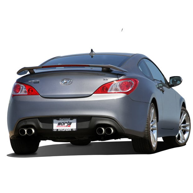 borla cat back exhaust 2010 2014 genesis coupe 3 8 v6. Black Bedroom Furniture Sets. Home Design Ideas