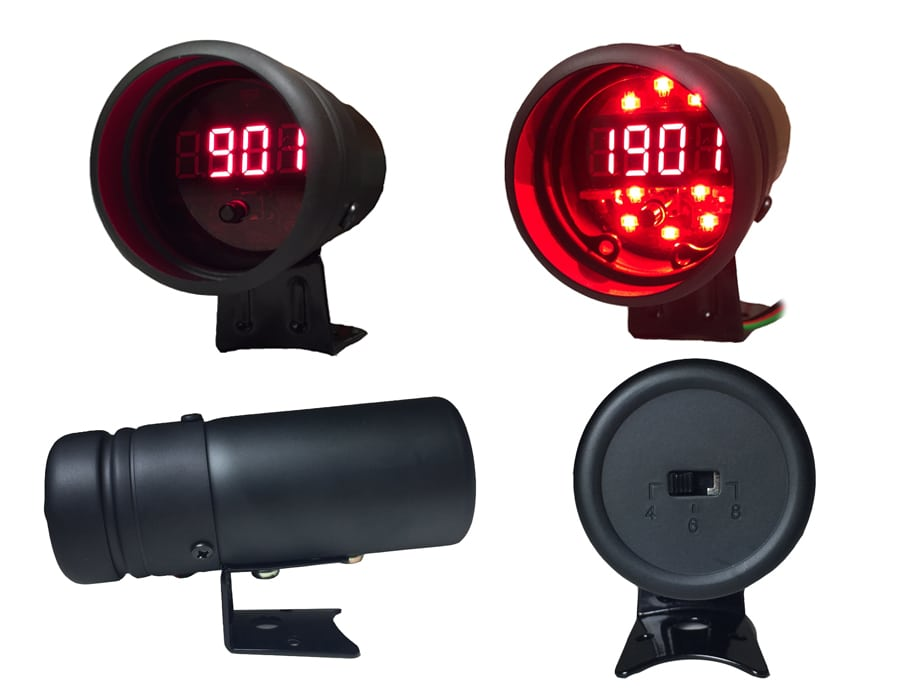 Prosport Performance Shift Light With Digital Tachometer