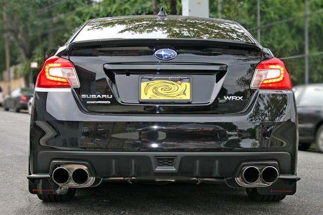 Rally Armor Urethane Mud Flaps 2017 2018 Subaru Wrx Sti Black