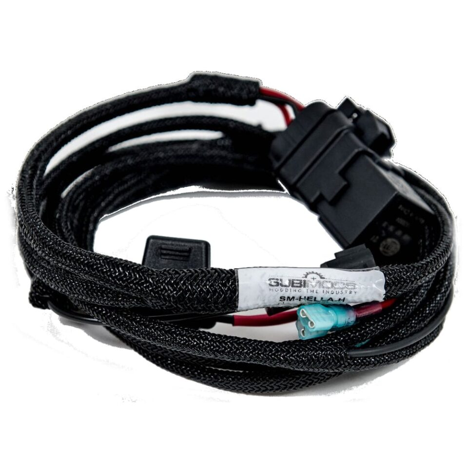Subimods Hella Horn Bracket V4 Wiring Harness Combo Touge Tuning Home Shop Accessories Exterior Horns