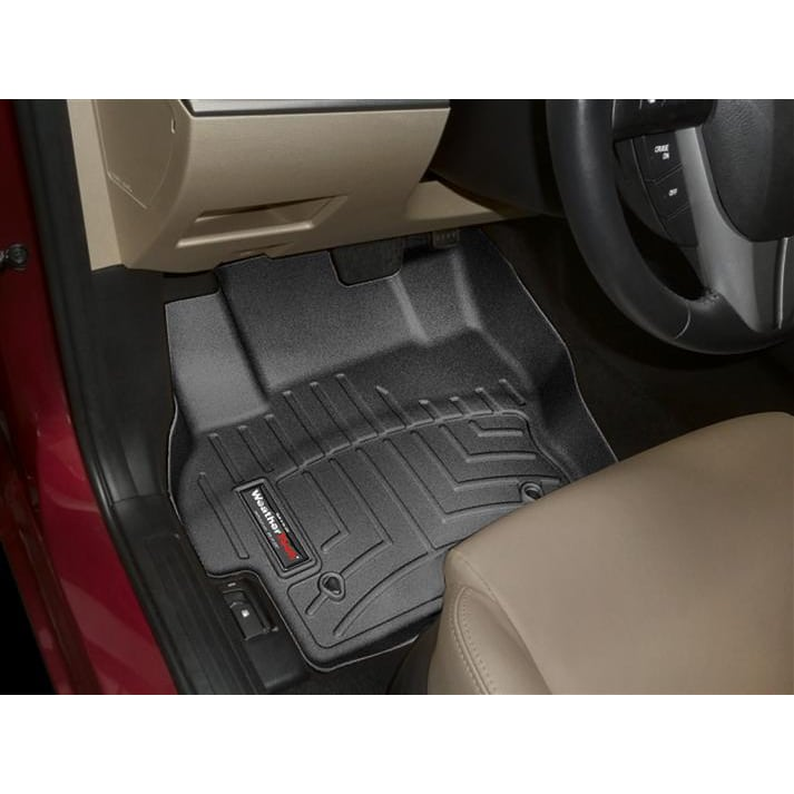 weathertech black front floor mats 2010 2013 mazdaspeed3. Black Bedroom Furniture Sets. Home Design Ideas