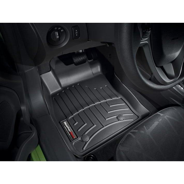 Weathertech Black Front Floor Mats 2011 2018 Ford Fiesta Touge