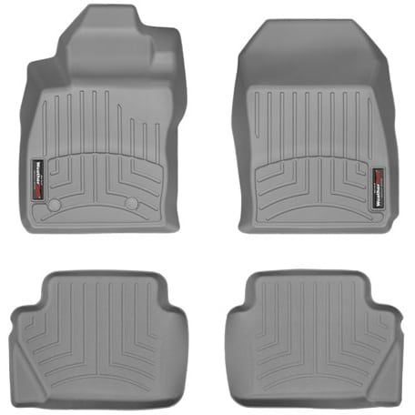 Weathertech Grey Front Rear Floor Mats 2014 2018 Ford Fiesta