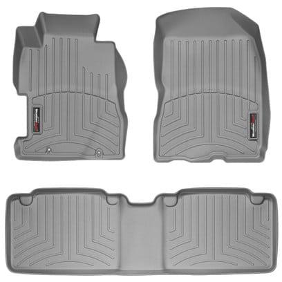 WeatherTech Grey Front U0026 Rear Floor Mats U2013 2006 2011 Honda Civic Sedan