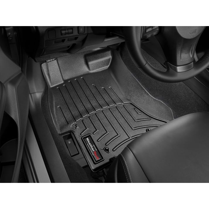 weathertech black front floor mats