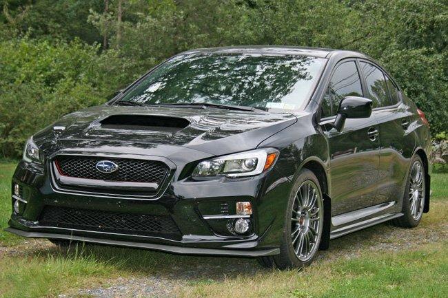 WRX /& STI Sedan Black UR Mud Flaps w// BLUE Logo! Rally Armor For 2015