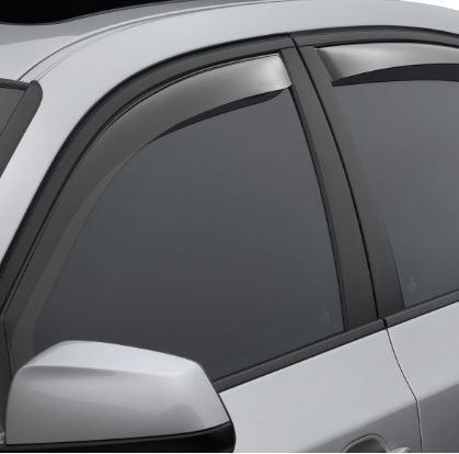 Hummer H3-70399 WeatherTech Side Window Deflectors for 2006-2010