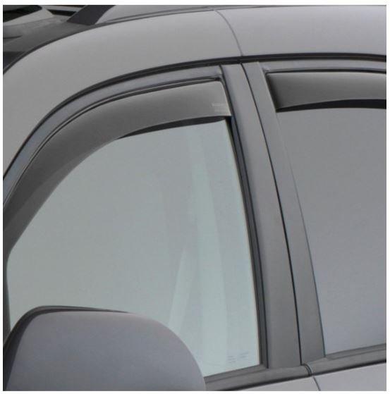 Dark Smoke WeatherTech Custom Fit Sunroof Wind Deflectors for Cadillac Escalade