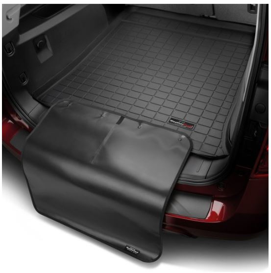 Weathertech Black Cargo Liners With Black Bumper Protector 2006 2012 Toyota Rav4 Touge Tuning