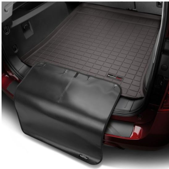 Weathertech Cocoa Cargo Liners With Black Bumper Protector 2007 2017 Ford Expedition Lincoln Navigator Touge Tuning