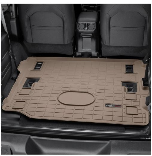 Weathertech Tan Cargo Liners 2018 2020 Jeep Wrangler Touge Tuning